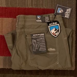 Kuhn Revolvr Hiking Pants 36x32 New with tags